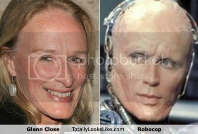 Feias do cinema: Glenn Close