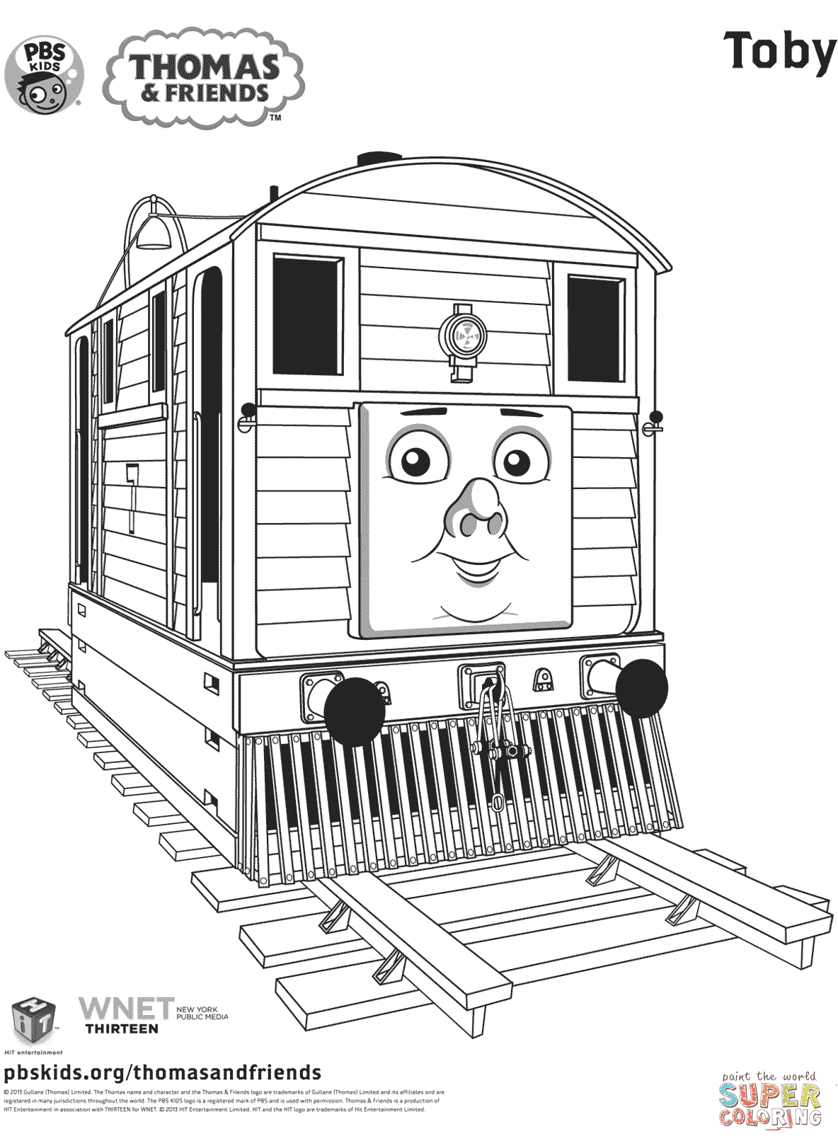 Thomas Friends Coloring Pages Free Coloring Pages