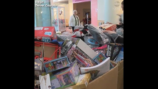 Video: Colorado teen donates thousands of toys in brother's honor