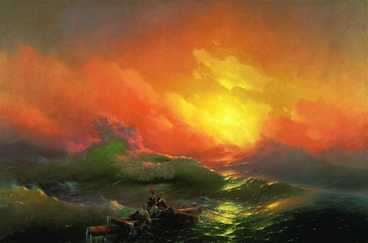 The Ninth Wave, 1850 - Ivan Aivazovsky