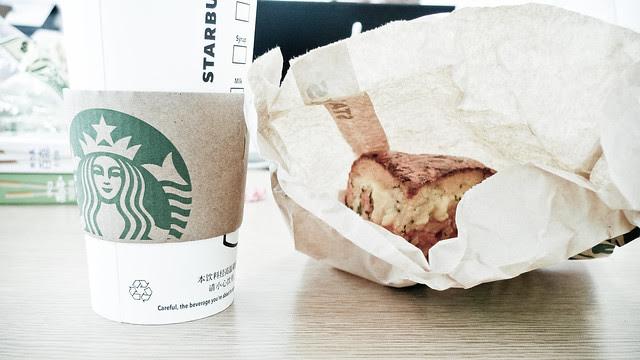 starbucks 早餐