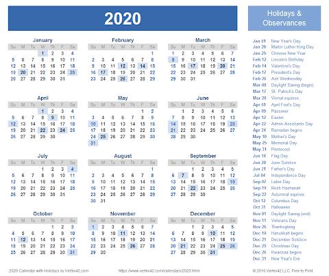 Kalender 2020 File
