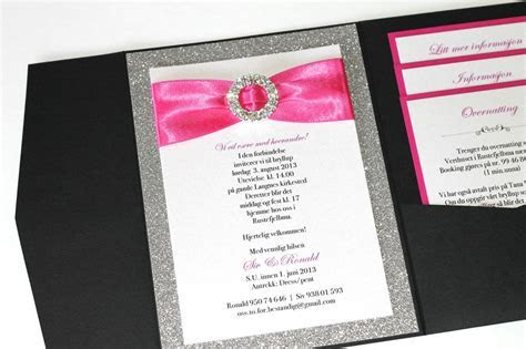Embellished Paperie: Silver Glitter, Hot Pink and Black