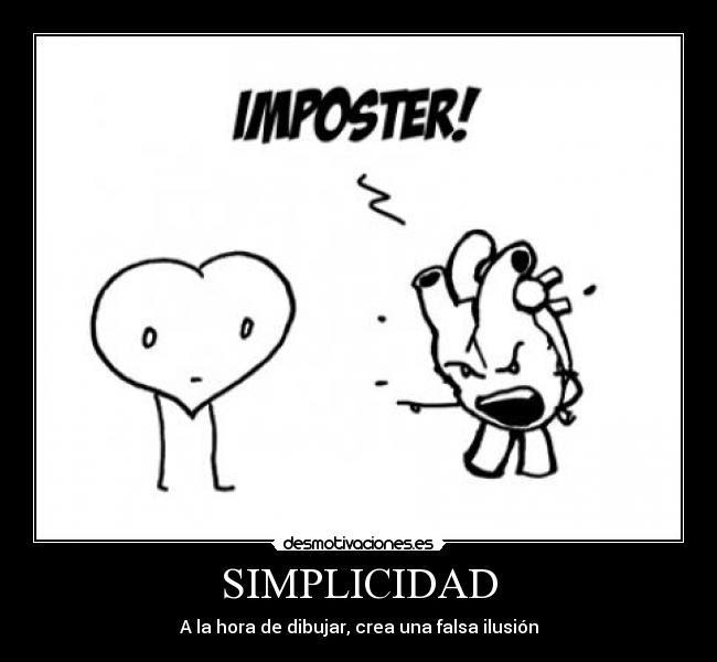 Simplicidad Desmotivaciones