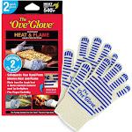 2pk Oven Mitt White/Blue - The 'Ove' Glove
