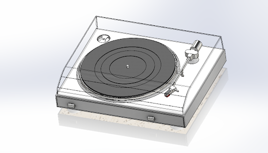 SOLIDWORKS Part Reviewer: Record Player Tutorial