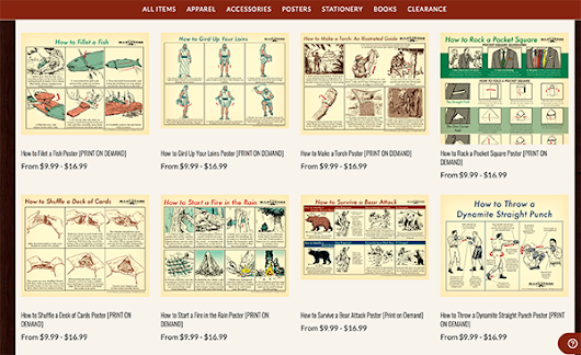 Like Our Illustrated Guides? Get One as a Poster! | The Art of Manliness