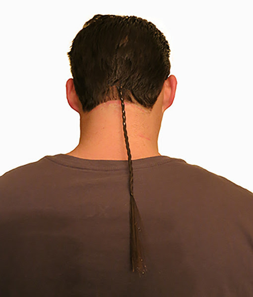 Braided Rat Tail Clip On / Wig – RatTailWigs
