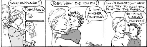 Home Spun comic strip #67