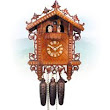 Cuckoo clocks with carvings and carved figures | your-cuckoo-clock.com
