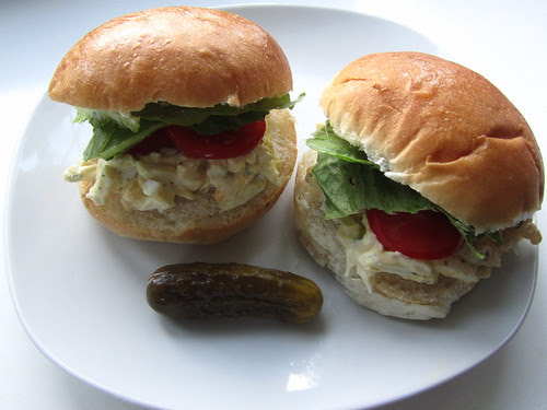 Egg Salad Sandwiches