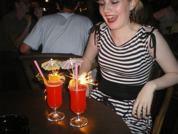 Cocktails on holiday