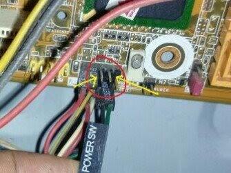 Memperbaiki tombol power PC sendiri