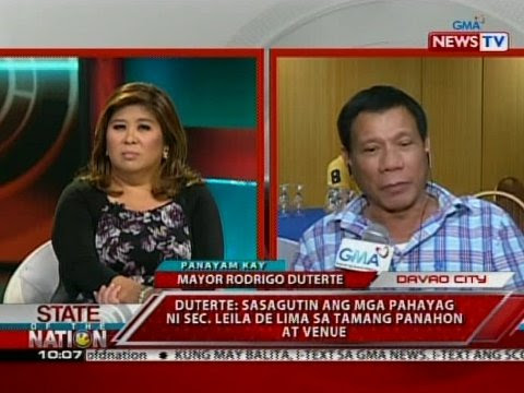 Panayam kay Davao City Mayor Rodrigo Duterte | Video