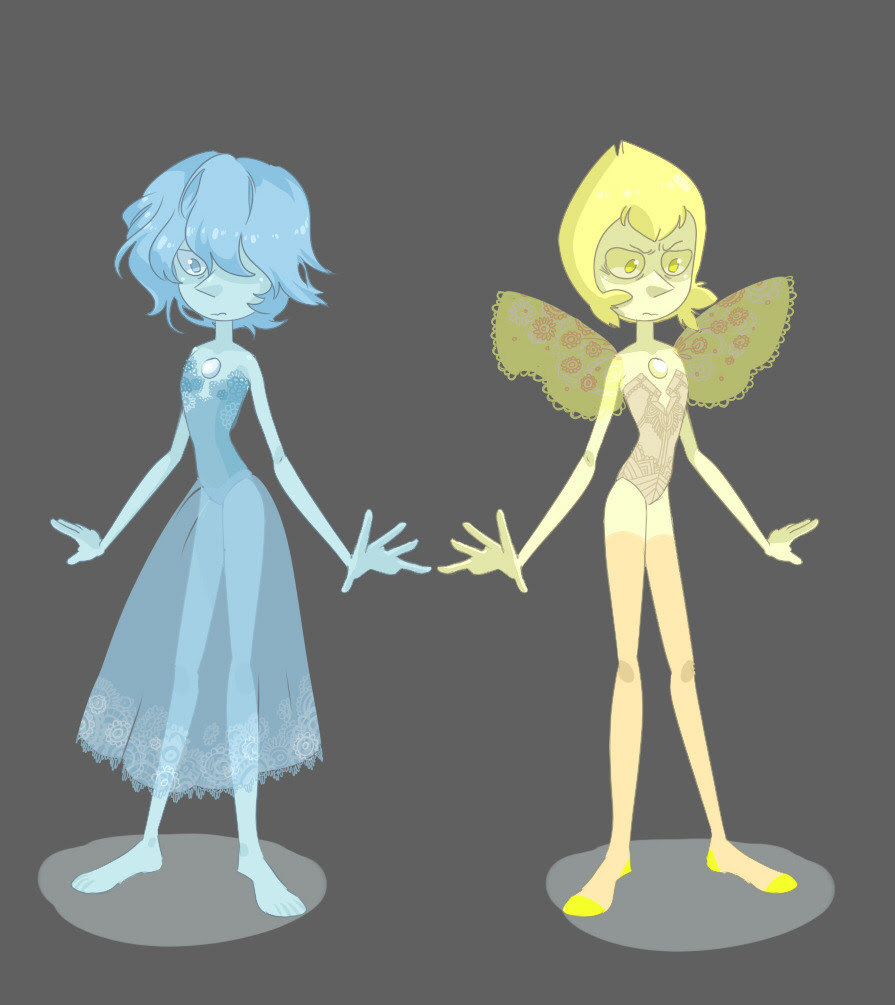 """""""Here comes a Pearl…"""" Blue and Yellow Pearl are so cute…"""