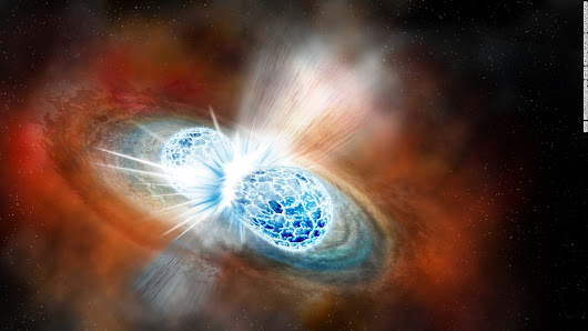 First-seen neutron star collision creates light, gravitational waves and gold - CNN