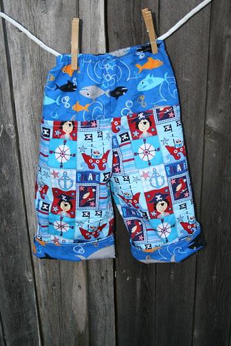 Pirate Pants Back