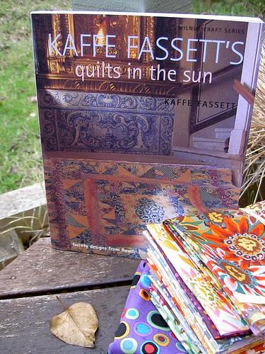 Kaffe Fassetts' fabric and book