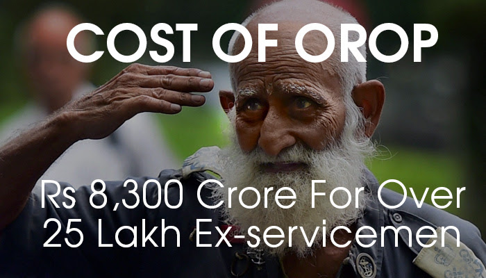 """1:2200000 Ratio"" Likely Calculation Of OROP & Arrears"