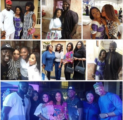 Nollywood's Hottest Actress,Funke Akindele Throws A Star-studded New Year Party