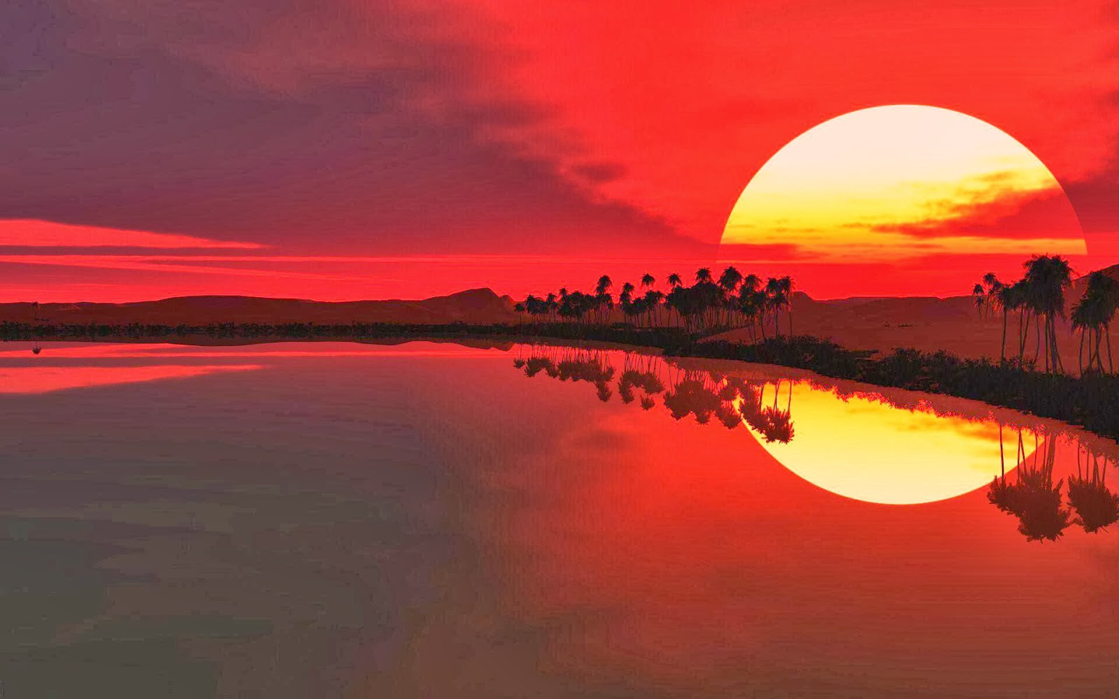 Hd Sunset Sunrise Wallpapers Wallpapersafari
