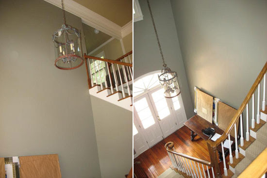 Su Casa: Before and After Foyer