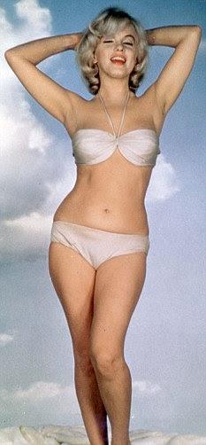 Lamentações: Monroe usou a gemer sobre ser um símbolo sexual, mas depois fez tudo que podia para incentivá-la com photoshoots como este