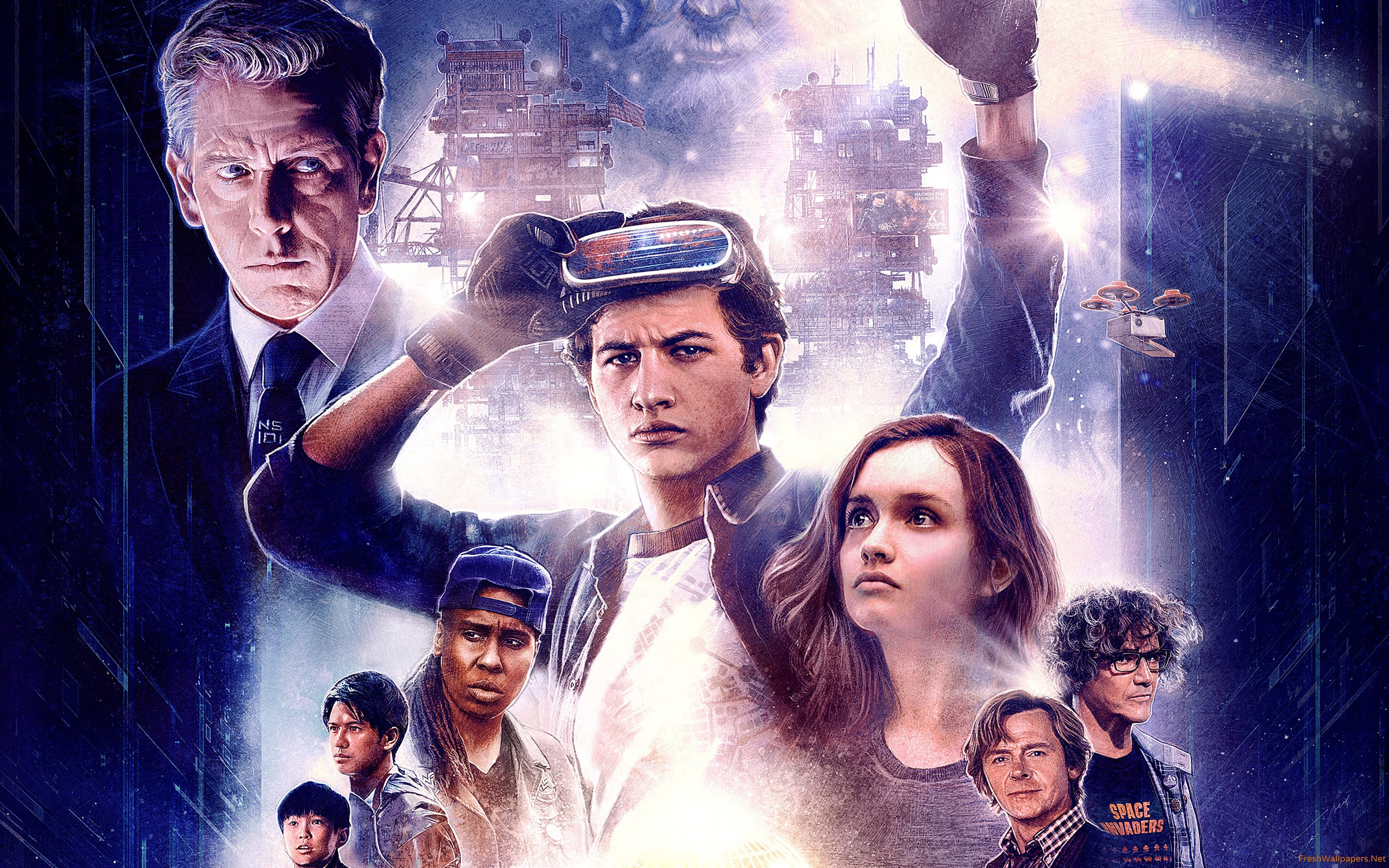 Ready Player One Artwork Wallpapers