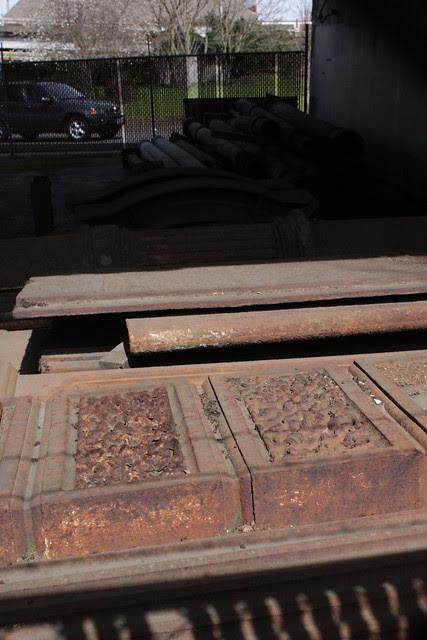 cast iron boneyard