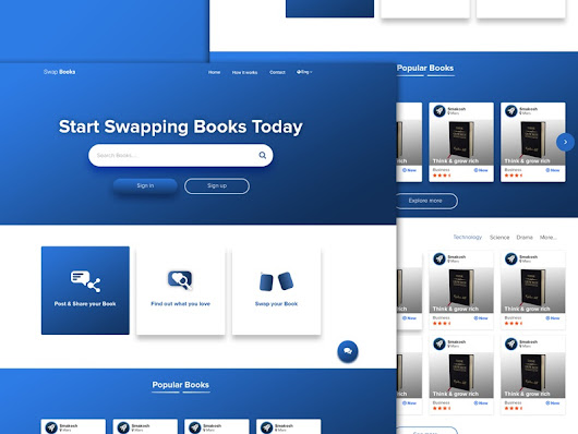 Swap Books | Daily UI #18