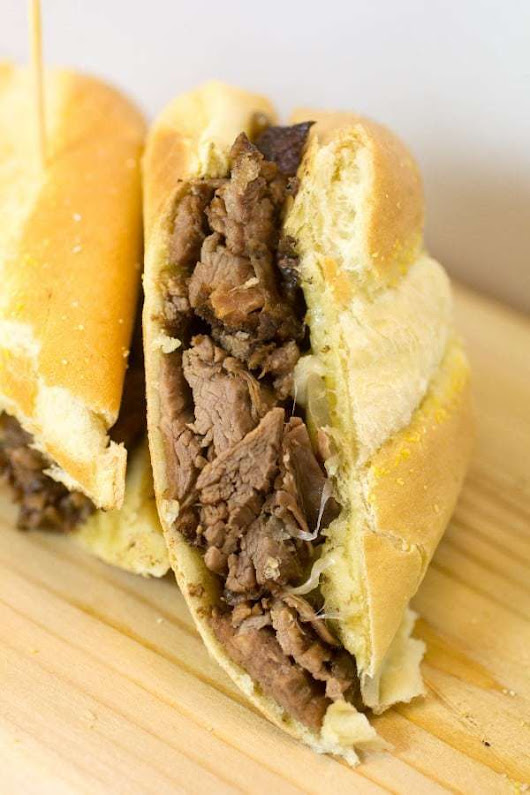 French Onion French Dip Chuck Roast - Or Whatever You Do