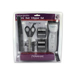 Kole Imports OB644-4 Rechargeable Hair Clipper Set with Accessories - Pack of 4