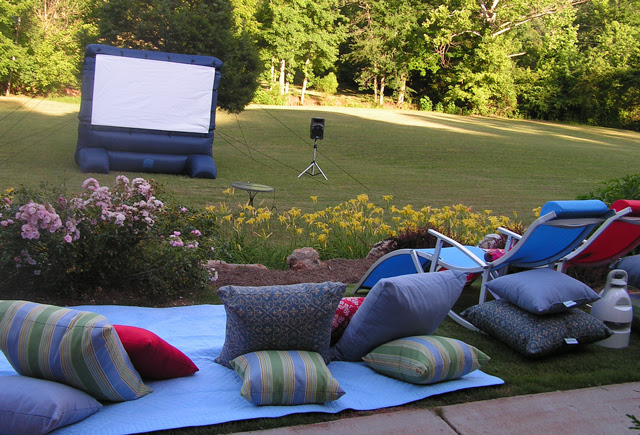 Martie Knows Parties Blog Outdoor Movie Night Party Preview