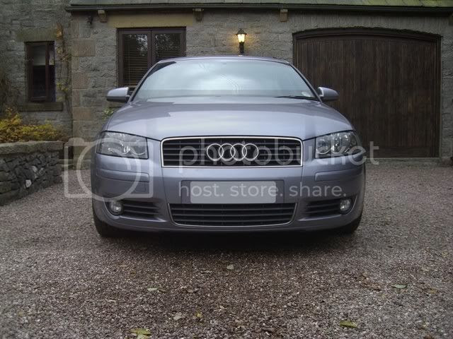 Audi A3 Grill Upgrade