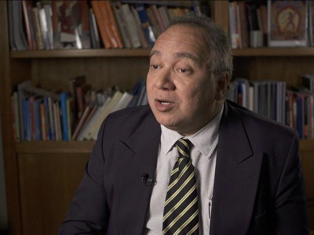 Juiz Flavio Roberto de Souza, afastado do caso Eike/GNews (Foto: Reprodução GloboNews)