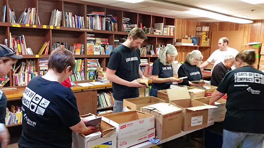 A-B Tech Volunteers Deliver $5,500+ Books to 11 Locations in One Day!