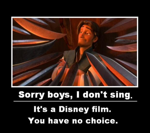 Flynn Ryder, funny disney movies, tangled - Dump A Day