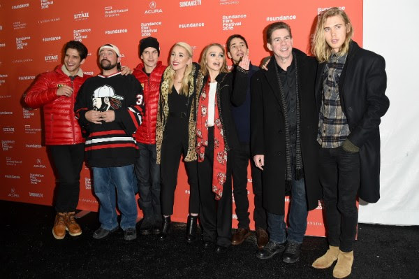 Lily-Rose Depp e o elenco de 'Yoga Hosers' (Foto: Getty Images)