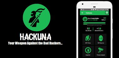 HACKUNA - Aplikasi Scanner Untuk Melacak Hacker