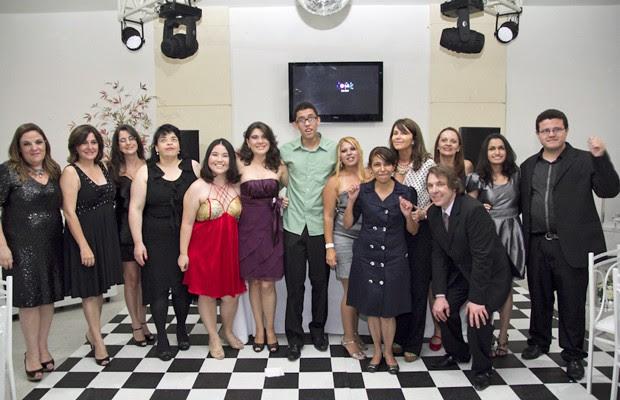 Evento de formatura encerrou o curso da primeira turma e reuniu professores e familiares (Foto: Divulgação/Fundação Dorina Nowill)