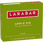 Larabar Apple Pie Fruit & Nut Food Bars - 5ct