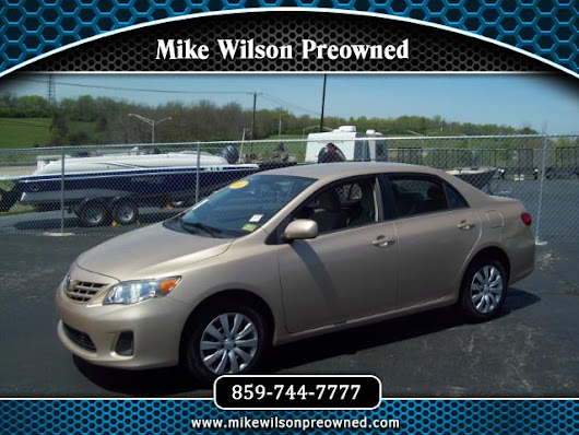Used 2013 Toyota Corolla LE for Sale in Winchester KY 40391 Mike Wilson Preowned