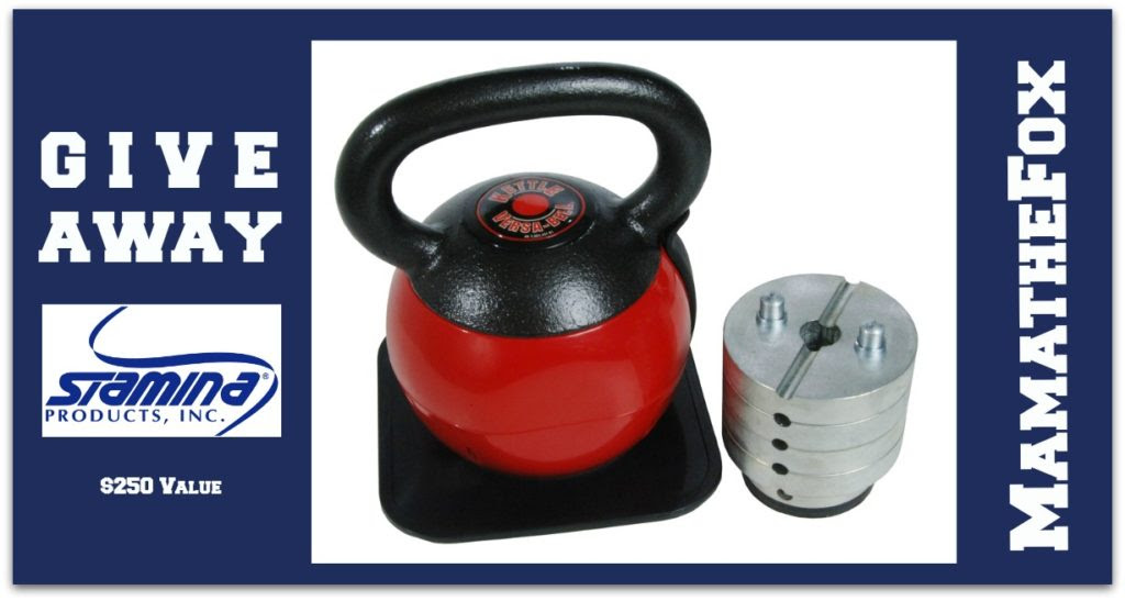 Enter the Adjustable Kettle Ball Giveaway. Ends 11/8