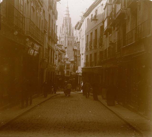 Calle Ancha en 1913. Fotografía de Luis Calandre Ibáñez