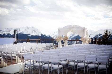 The Little Nell ? Aspen Mountain Wedding Deck, Aspen