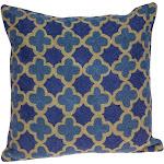 Parkland Collection PILH21071C Calix Accent Blue Pillow Cover