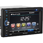"Planet Audio P9630B In-dash DVD Receiver - 6.2"" Touch Display"