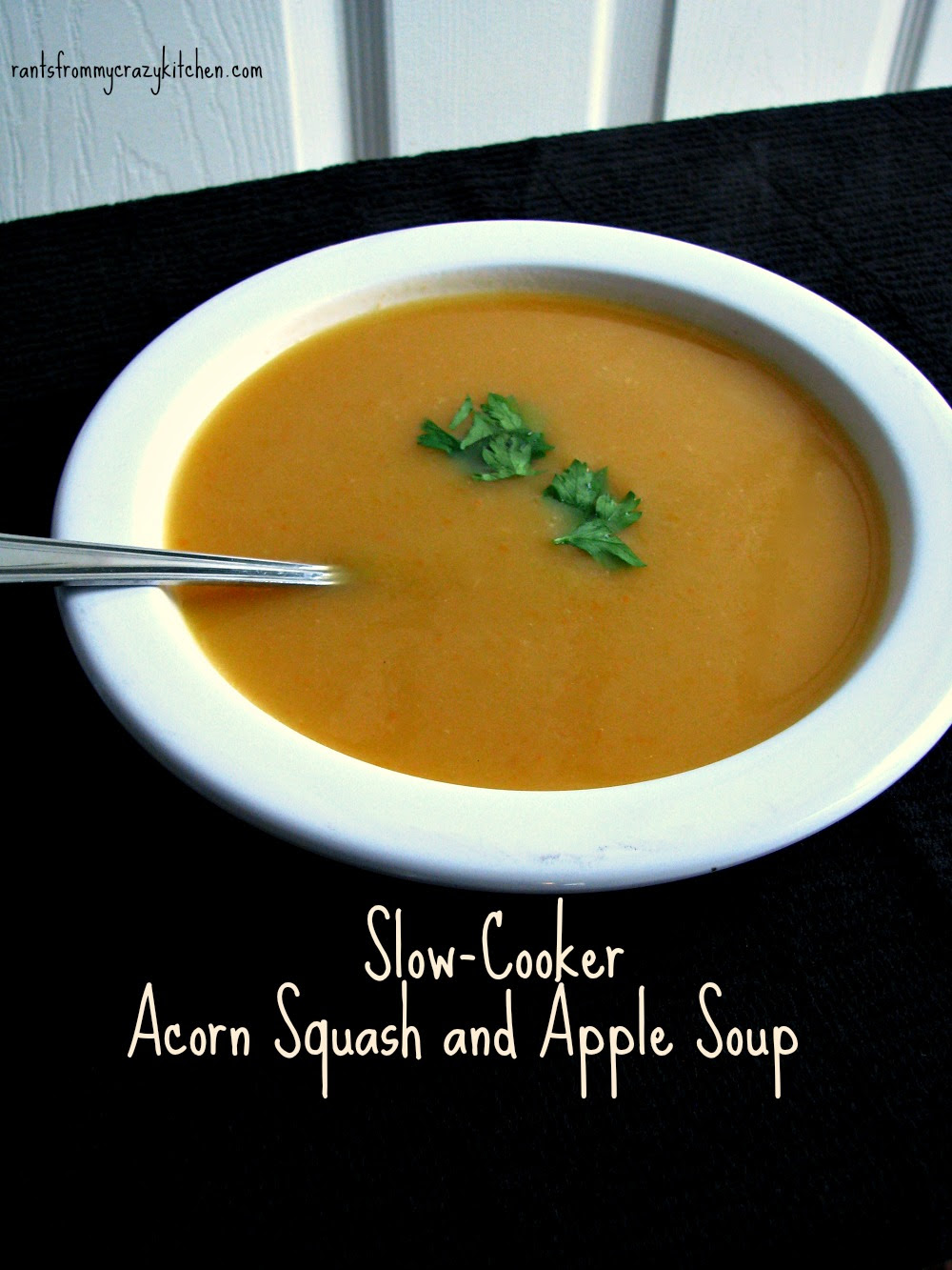 Perfect Fall Soup Recipe Roundup Slow Cooker Acorn Squash Apple Soup