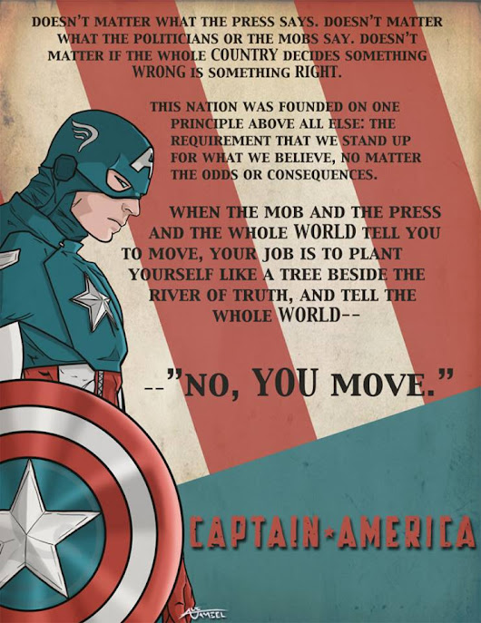 Captain America: Uncivil Behavior