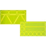 Nathan Reflective Sticker Pack Yellow